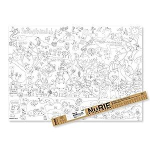 マルアイ 塗り絵 NuRIE ANIMAL L...の関連商品1