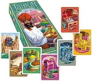 Jaipur: Familienspiel für 2 Spieler. Spieldauer: 30 Minuten. 55 Karten, 60 Chips