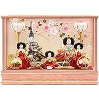 雛人形 ケース入り五人飾り[幅50cm][it-1002] 雛祭り