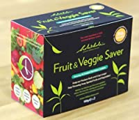 Fruit & Veggie Produce Saver Featuring Bamboo Charcoal by BoRim