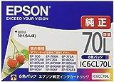 最安|評価は?エプソン 純正 インクカートリッジ IC6CL70L 6色セット 増量