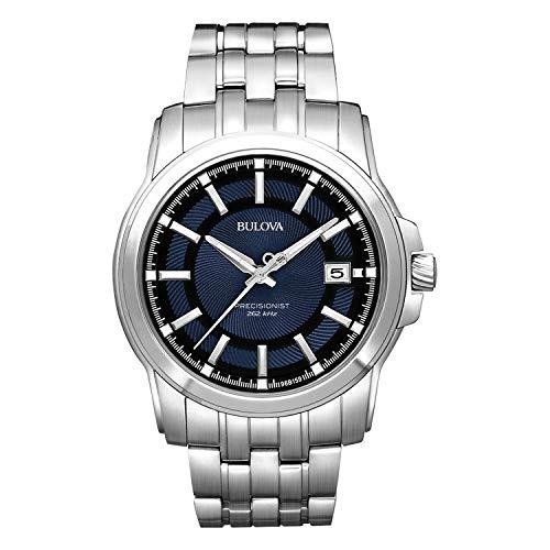 ブローバ Bulova Men's 96B159 Precisionist Round Watch [並行輸入品]