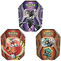 Pokemon POK82264-6 Mysterious Powers Fall Tin Card Game