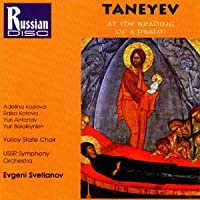 Taneyev;Reading of a Psalm