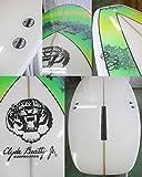 Clyde Beatty Jr(クライド・ビーティー・ジュニア)サーフボード [brush/green ] 8'0