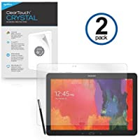 Galaxy Note Pro 12.2 Screen Protector, BoxWaveR [ClearTouch Crystal (2-Pack)] HD Film Skin - Shields From Scratches for Samsung Galaxy Note Pro 12.2 [並行輸入品]