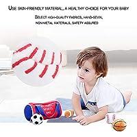 ElementDigital 早期教育玩具 知育玩具 プレイハウス 楽しい親子玩具 ヘアボール 玩具 バスケットボール フットボール 野球 ラグビー (スポーツバッグ)