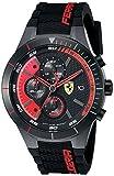 フェラーリ Ferrari Men's 0830260 REDREV EVO Analog Display Quartz Black Watch [並行輸入品] (¥ 27,000)