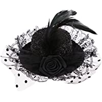 Blesiya 1/3スケール BJD SD LUTS YOSDに適用 上品 クラシック フォーマルキャップ 帽子 ハット 6色選ぶ - #1