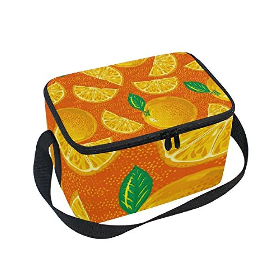 鋼哀れなベスビオ山クーラーバッグ クーラーボックス ソフトクーラ 冷蔵ボックス キャンプ用品 オレンジ柄 保冷保温 大容量 肩掛け お花見 アウトドア