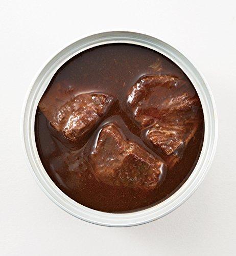 『明治屋 おいしい缶詰 牛ほほ肉の赤ワイン煮 90g』の3枚目の画像