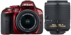 Nikon デジタル一眼レフカメラ D5300 ダブルズームキット2 レッド