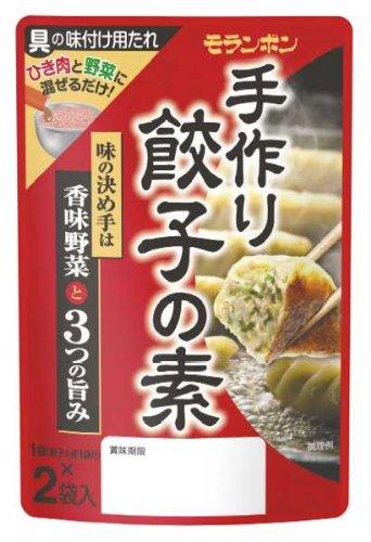 モランボン 手作り餃子の素 70g(35g×2)×10袋