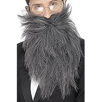 ひげ グレー ロング 大人男性用 Long Beard and Tash