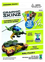 (Military Design Pack) - RoseArt Graphic Skinz Design Set, Military