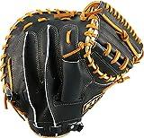 ゼット(ZETT) 軟式野球 キャッチャーミット ネオステイタス 右投げ用 ブラック×オークブラウン(1936) BRCB31022