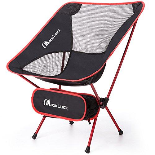 Moon Lence アウトドア チェア キャンプ 椅子 折りたたみ アルミ合金&オックスフォード コンパクト 超軽量 収納バッグ キャンプ アウトドア ハイキング 耐荷重110kg