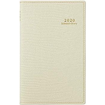 能率 ペイジェム 手帳 2020年 ウィークリー うすかる コンパクト 2Weeks アイボリー 2144 (2019年 11月始まり)