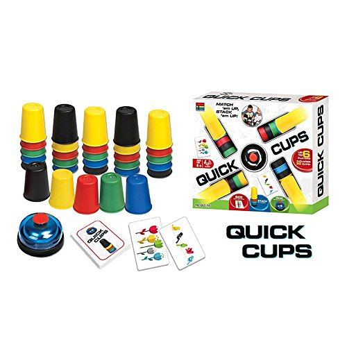 スピードカップス カップ増量 積み重ねるゲーム 並べるゲーム スピード競争 知育ゲーム 30個 speed cups quick cups