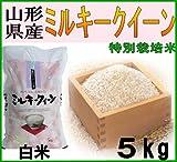 山形県産米 28年度 新米 ミルキークイーン 5kg (白米(約10%減量))