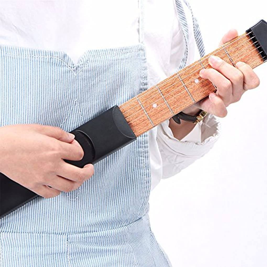 さびたスイス人精算HLHome ポータブルギターエクササイズ装置ギターコード演奏ギター指演奏装置ギター指の力装置ギターアクセサリー