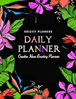 Kreatif Planners | Daily Planner - Creative Ideas Boosting Planners: Daily Agenda Schedule Organizer Planners 12 Week Undated for Students, Moms, Employees and for Creative People to Stay Organized and Productive