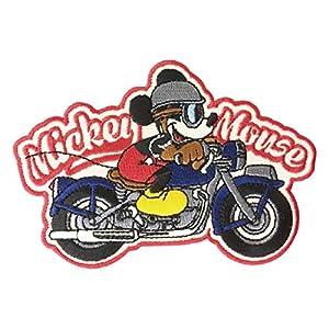 ディズニー ワッペン ミッキーマウス バイク APDS2738