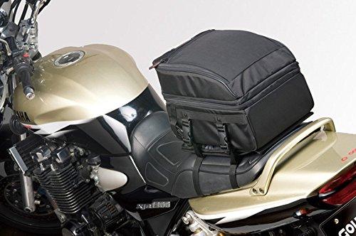 GOLDWIN(ゴールドウイン) タンデムシートバッグ 20 ブラック 32×24×21-28cm GSM17302