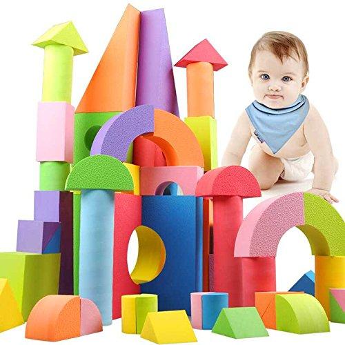 WTOR EVA素材 積み木 ブロック 知育 玩具 男の子 女...