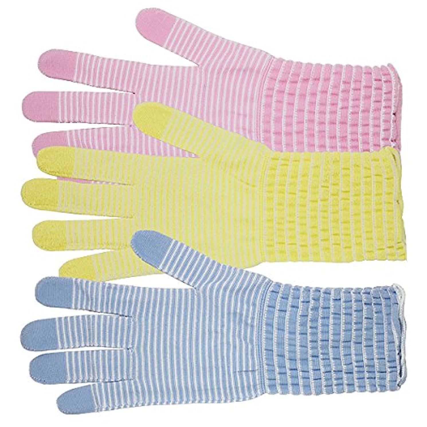 独立こする切断するコラーゲン手袋 モイストコート003 ソーダ