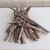 流木:小枝の詰め合わせ(約20本入り)[装飾に人気!上高地のダムの流木です]