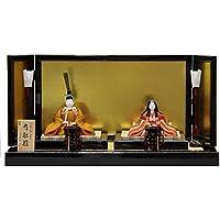 雛人形 平飾り木目込み親王 有識雛1278 幅75cm 3mk26 真多呂 伝統的工芸品