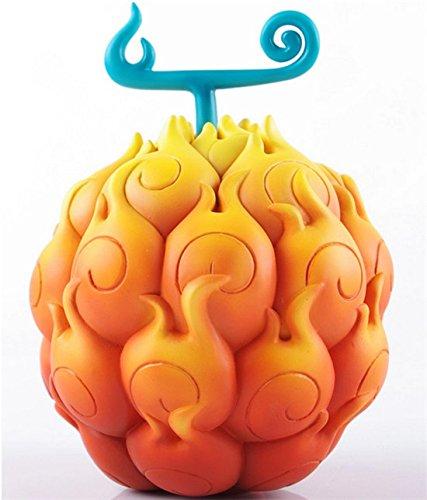 【ノーブランド品】コスプレ 悪魔の実 エース / ルフィ 飾り物 趣味 ゴムゴムの実 メラメラの実 コスチューム コスプレ小物 / 道具 cosplay オレンジ