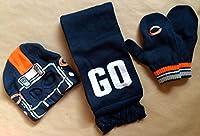 Chicago Bears帽子、スカーフ&グローブ–ユースチームギフトセット