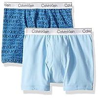 Calvin Klein Boy's Kids Multipack Modern Cotton Assorted Boxer Briefs Underwear