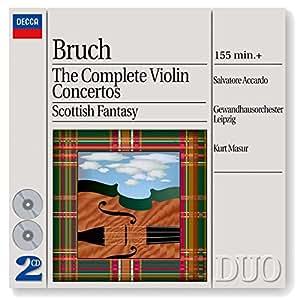 Complete Violin Concertos / Scottish Fantasy