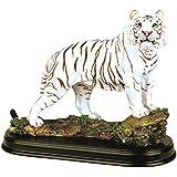StealStreet SS-G-19718 White Tiger Collectible Wild Cat Animal Decoration Figurine Statue