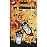 Amazon.co.jp大人気ドラマ・シーズン7 WALKING DEAD - Walker ドッグタグ/ ネックレス/ 【公式 / オフィシャル】
