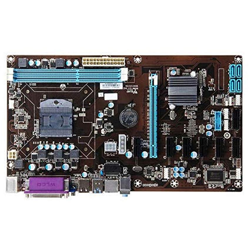 ベリーコンテンポラリー動ETH Bitcoin Minersのための8 GPU LGA 775 DDR3 8-PCIE SATAマイニングマザーボードソケット