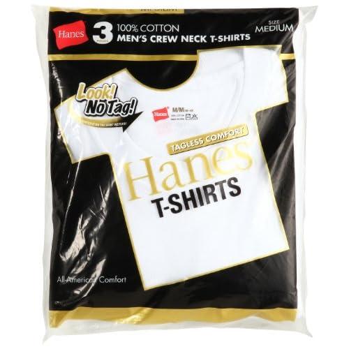 (ヘインズ)Hanes 3P ゴールドパック クルーネックTシャツ H2155TN-010 010 ホワイト L