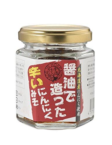 トヤマ 醤油で造った辛いにんにくみそ 100g×2個