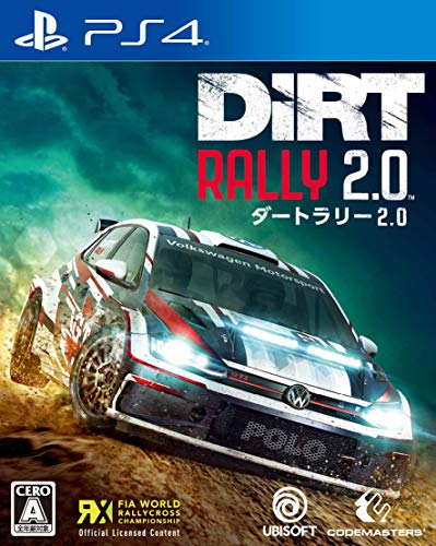 DiRT Rally 2.0(ダートラリー2.0)【初回生産特典】ゲーム内で使えるマシン(Porsche 911 RGT ラリースペック, Fiat 131 Abarth Rally, Alpine Renault A110 1600 S)のプロダクトコード 同梱 - PS4