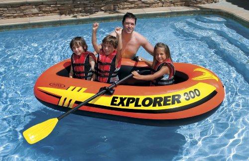 INTEX(インテックス)ボートエクスプローラー300SET211×117×41cm58332オール・ポンプ付属[日本正規品]