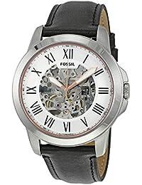 [フォッシル] FOSSIL 腕時計 Grant Silver Skeleton Dial Automatic Men's Watch メンズ ME3101 [並行輸入品]