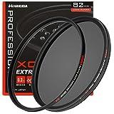 HAKUBA 82mm レンズフィルター XC-PRO 高透過率 撥水防汚 薄枠 日本製 保護フィルター+サーキュラーPLセット