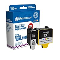 Dataproducts Kodak Remanufactured #10BXL/10C Black High Yield & Tri-Color Ink Cartridge Combo Pack - DPC10CP [並行輸入品]