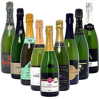 本格シャンパン製法だけの厳選泡9本セット((W0S919SE))(750mlx9本ワインセット)