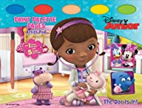 Disney Junior Doc McStuffins - The Doc Is in: Artist Pad with Page Palette Pages