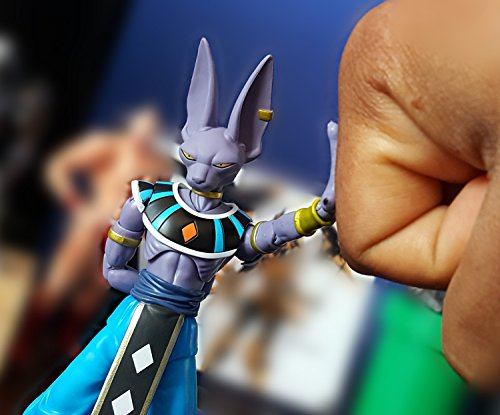 "Dragonball Z Super Scultures Tenkaichi "" Beerus "" Figuartsアクションフィギュア Bandai"