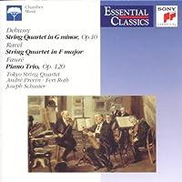 Debussy/Ravel;String Quarte